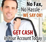 Payday Loans Online No Faxing - No Credit Check ! Bad Credit OK! Get $100-$1500 Fast Cash Advances Online in 1 Hour / by Paydayloans Online