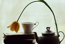 Books and tea, tea and books. / by D Cm