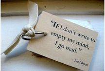Writing Quotes and Inspiration / Every writer needs a boost of inspiration and here we aim to do just that.  You will also find fantastic quotes about writing or just random quotes from writers, sure to inspire you, make you think or just make you laugh. / by ThePinkBookworm
