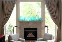 Fireplace Decor / by Kylene Seele