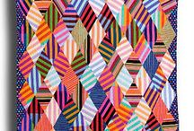 Quilt and Silk Inspiration / Ideas for the novice quilter and experienced silk painter...hmmm, to merge these...with some of my mixed media work.... / by Erin Welsh