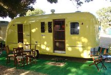 campers & trailers / developing a mild obsession / by Charlotte Willner