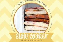 Slow Cooker Meals / by Samantha Parry