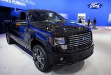 Ford F-150 / Built tough to its core, this high performance truck posses a perfectly rugged temperate without compromising on style.   Drivers enjoy a hard working truck with optimal fuel efficiencies and a extreme towing capabilities.       / by Ford Canada