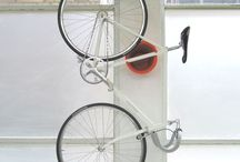 Home is where you hang your bike / Various ways to store a bicycle indoors / by Jesse Hattabaugh