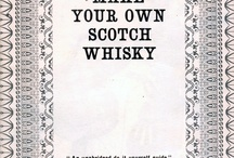 Making Scotch Whiskey / Old Brochure from Teacher's Highland Cream Blended Scotch Whiskey. / by keke Jones