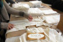 Behind the Scenes at SNOA Sleepwear / by SNOA Sleepwear