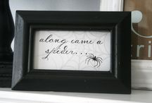 Holiday : Halloween Paper + Decor / by Brenda of Brenda's Wedding Blog