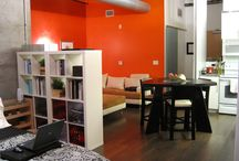 Apartment set ups / by Christine Reeves