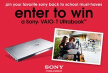 Back-to-School Must Haves / #Sony / by Carol