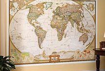 la cartographie / l'étude des cartes géographiques / by Ashleigh Shiffler