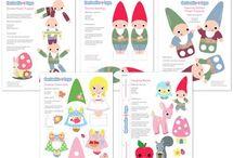 Paper dolls / by Pancsi Pancsoló