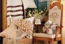 DIY with burlap and other materials / by Kristin Castellano