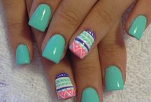 Nails, nails and more nails!  / by Jackie Carter