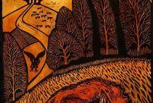 Woodcuts & Linocuts / by Adam Kō Shin Tebbe