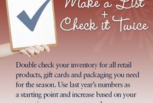 Holiday Business Tips  / Our gift to you - weekly tips to help you maximize your seasonal sales. Check by each week. http://actionbag.com/article.aspx?a=116 #actionbag / by ActionBag