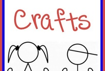 Kids crafts / by Inez Mobley