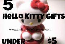 HELLO KITTY / HELLO KITTY THINGS I LIKE / by Tammy Dodson
