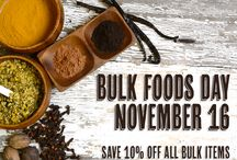 We LOVE Bulk! / Bulk Foods Day is November 16 - Save 10% off all Bulk items! Use this board as inspiration for all your bulk purchases! / by Lakewinds Food Co-op