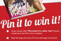 Pin it to win it! / by wowcher