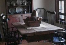 Early Primitive / Pioneer Dining Rooms / by Stacey Reilly