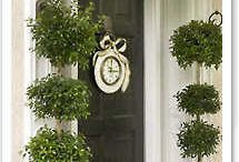 Front Door / Porch Decor / by Nell Hill's
