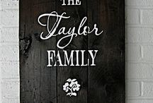 For the Home / by Cathy Taylor