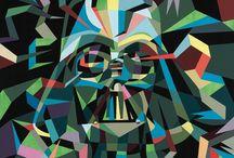 Darth Vader remixed / Darth Vader redone by artists/manufacturers. / by Bram van Rijen