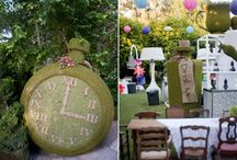 Alice in Wonderland Party / by Made by a Princess Parties in Style