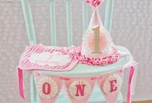 Amelia's 1st Birthday Ideas. / by Marisa Powers