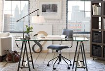 home design // home offices / by Kirsten Danielle | Through the Front Door