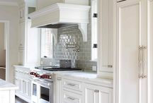 Kitchen ideas / by Carrie {Hooked on Decorating}