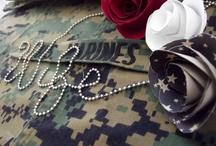 USMC Proud / Semper Fidelis / by Sarah K Hutchins