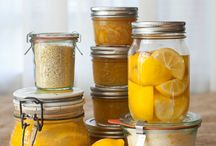 abundance   lemons / Recipes and uses for lemons for when my tree is groaning with fruit. / by Julie