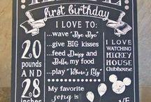 First Birthday / by Cheryl Tanko Snell
