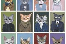 Desperate Housecats / by Virginia Bell