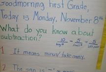 Math Message/Meeting / by Amanda Tervoort (First Grade Garden)
