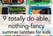 Kids lunches / by Amy Jo Summers