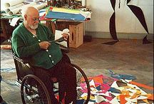 Matisse Collage / improvisation art and music / by Nicole Nelson