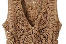 Crochet - Tops / Jackets / by Nivethetha Sudhakar