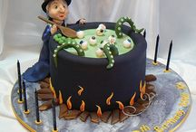 Crazy Halloween cakes / by ric winter
