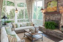 home: screened porch / A screened in porch can add living space to your home. I'd love for ours to feel like an extension of our living room & dining room. This board includes ideas to furnish & decorate the space. / by Coordinately Yours by Julie Blanner