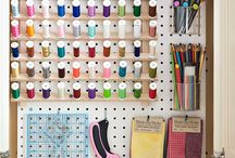 Organize - sewing rooms / by Ivanka Rex