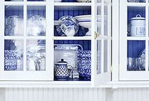 blue and white / by Peggy McCoy