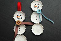 DIY Christmas ornaments / by Kimberly Shiflett