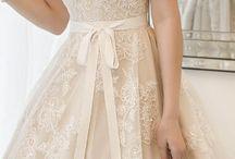 Wedding Dresses / Dresses & Garters / by Nicole Kosciuk