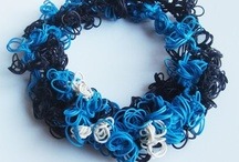 Rubber band bracelets / by Kim McCullars