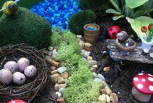 Fairy garden ideas / by Nicole Grell