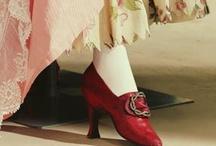 Vastly Pretty 18th C. Shoes / by TwoNerdyHistoryGirls ***