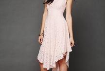 Fashion: Lace Dresses / Lace dresses / by Julie Miller